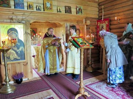 Евангельское чтение на праздничной литургии