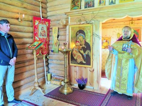Благодарственное слово настоятеля прихожанину Ксенофонту