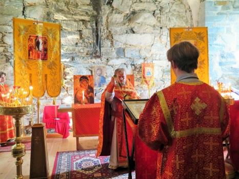 Чтение воскресного Апостола на богослужении