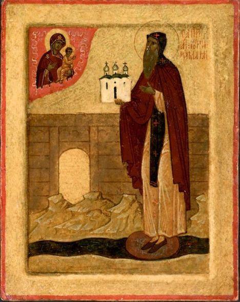 Икона Преподобного Антония Римлянина