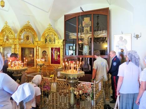 Поклонение Животворящему Кресту в с.Годеново