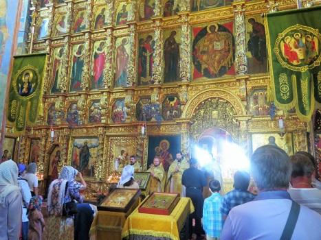 Литургия в день Всех русских святых в Ипатьевском монастыре Костромы