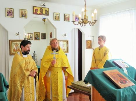 Приветствие настоятелей братских приходов Исландии и Норвегии