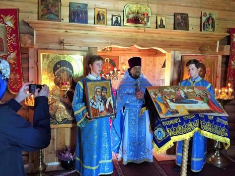 Проповедь о празднике и благодарение сербским прихожанам