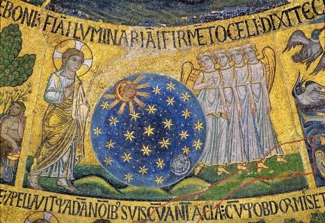 Мозаика сотворение Богом мира