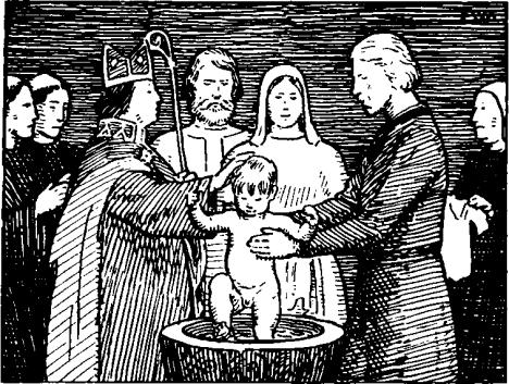 Крещение святого короля Олафа