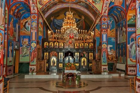 Сербский храм святого Саввы в Стокгольме