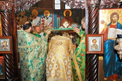 Чтение Символа веры на литургии