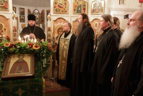 Проповедь епископа Антония Богородского после Всенощной