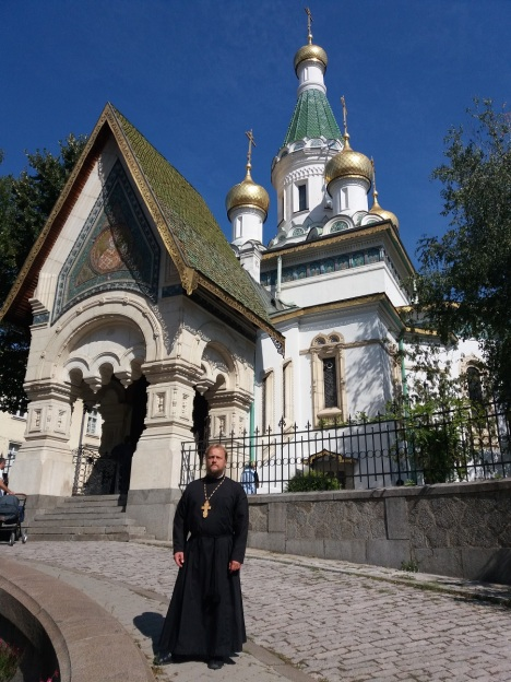 Русский храм святого Николая Чудотворца в Софии