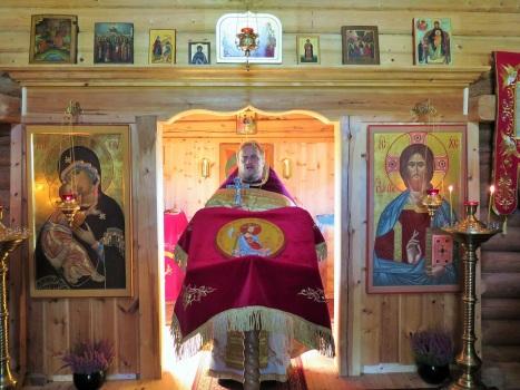 Проповедь настоятеля о подвиге веры святого Олафа