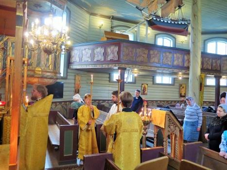 Вход с Евангелием на Литургии
