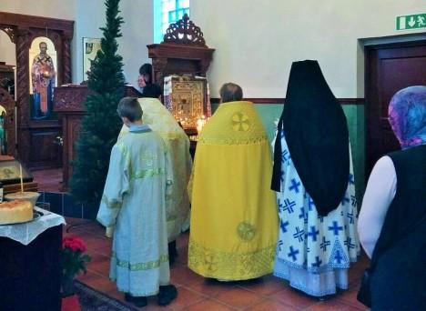 Соборное чтение акафиста святителю Николаю