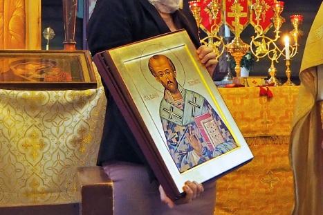 Икона святого Иоанна Златоуста