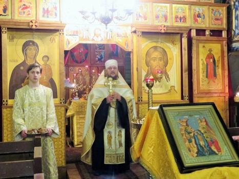 Проповедь о Богоявлении и раздаяние освященных хлебов