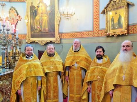 Духовенство из православных  приходов в Скандинавии
