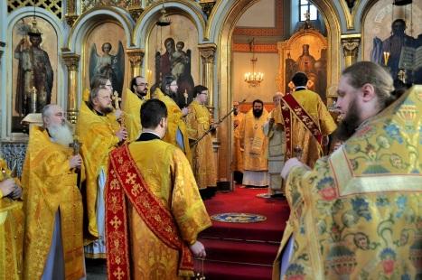 Праздничное богослужение в Хельсинки