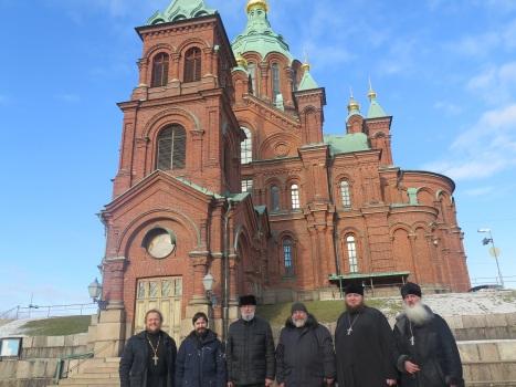 Православный Успенский собор в Хельсинки