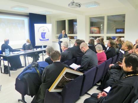 Работа конференции - Сретенских чтений в Хельсинки