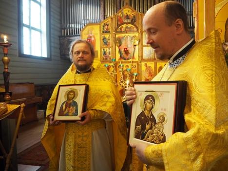 Икона Богородицы в подарок матушке Ольге