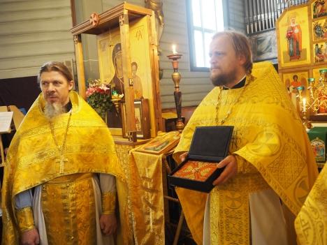 Ковчег с частицей мощей святого Олафа Норвежского